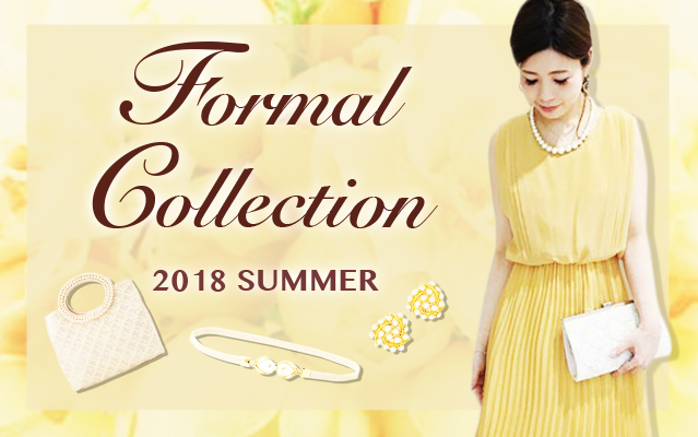 Formal Collection 2018 SUMMER