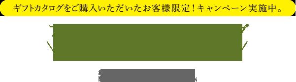 アクタス・オリジナル・ギフトカタログ プレゼント キャンペーン