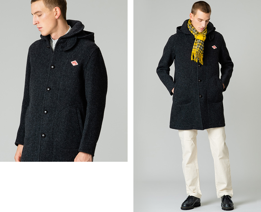2WAY HOODED COAT