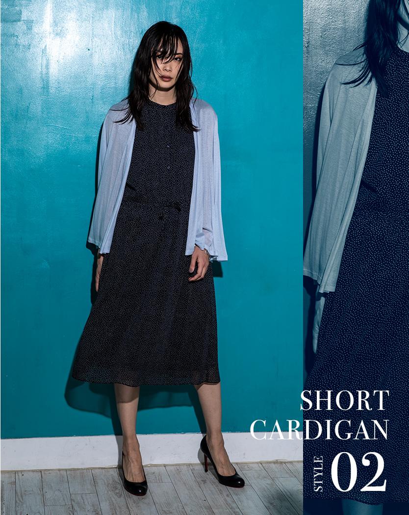 SHORT CARDIGAN STYLE02