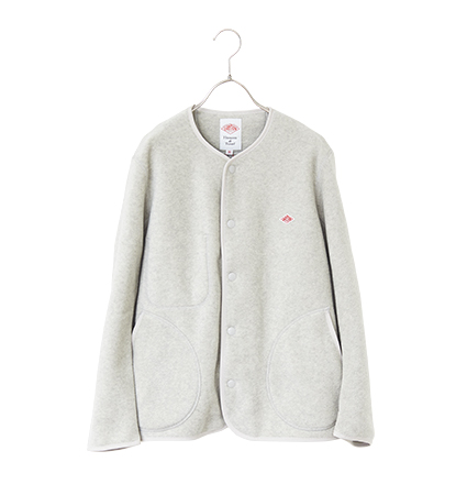 NOCOLLAR FLEECE CARDIGAN